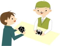 中古カメラの売買
